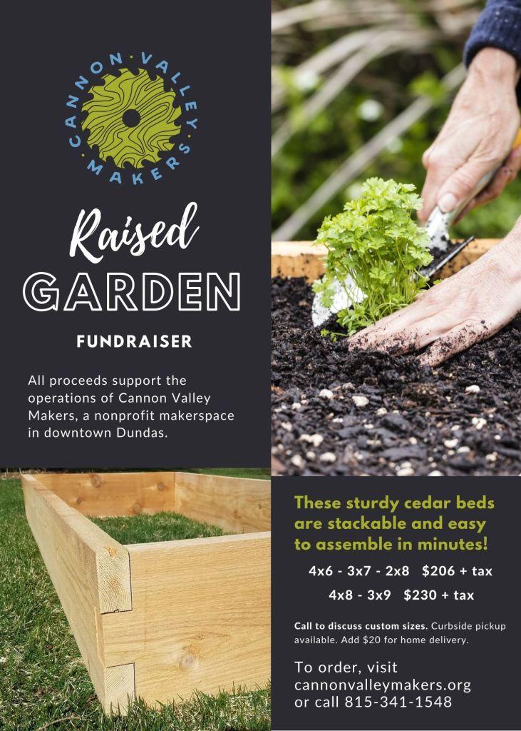 Raised Garden Fundraiser