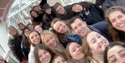 Class Selfie on the London Eye