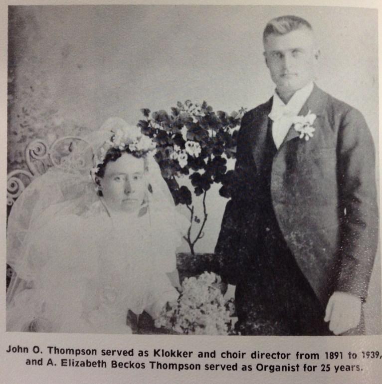 Bethel Lutheran Klokker and Organist