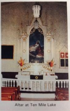 Ten Mile Lutheran Altar.