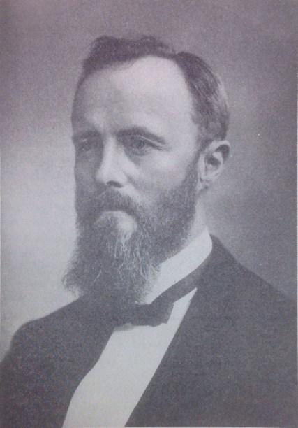 The Reverend Bernt Julius Muus. Organized St. John's congregation in 1869.