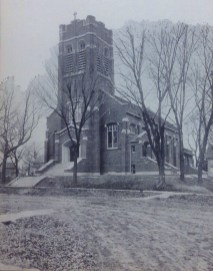 Exterior view of 1913 building.