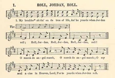 Roll, Jordan (Slave Songs of the United States)