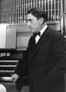 Maurice Duruflé, composer of organ and choral music