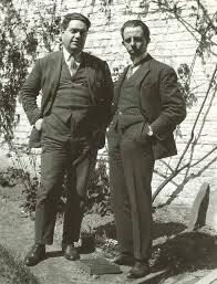 Paul Collaer and Darius Milhaud