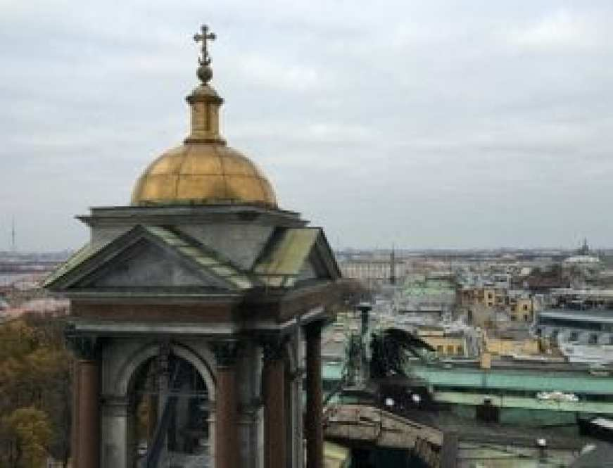 From the Dome of St. Isaac's Cathedral, 2016