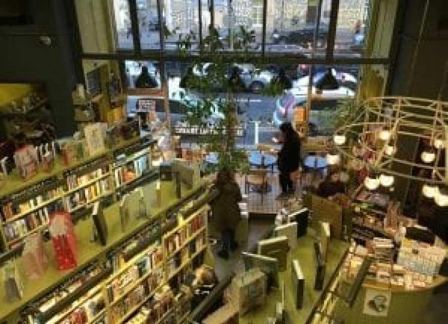Bookstore/Cafe Podpisnie Izdaniya, 2016