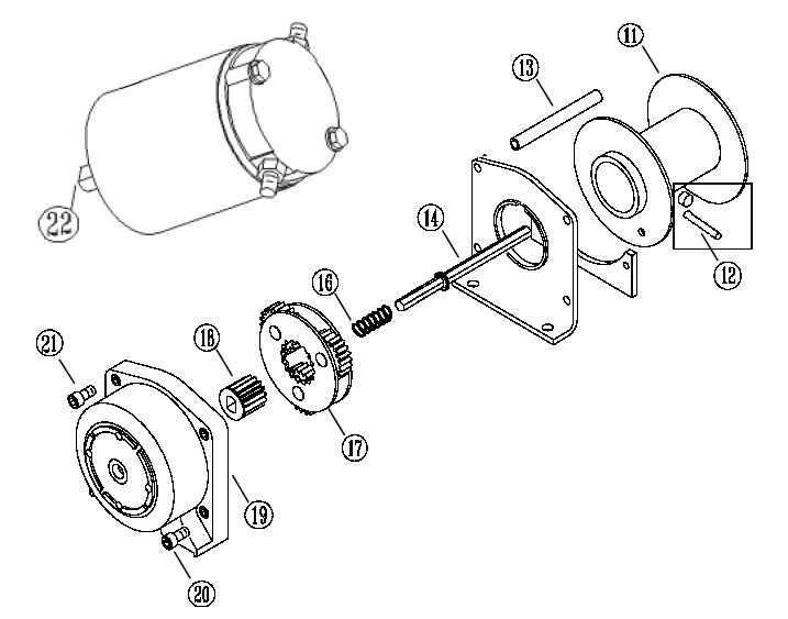 Ramsey Winch Parts Diagram Wiring, Ramsey, Free Engine