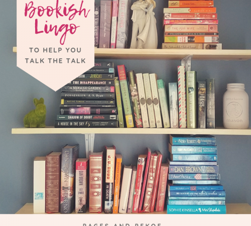 Bookish Lingo to help you talk the talk || PagesAndPekoe.Com
