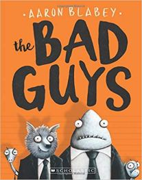 Fun Book Series for Early Readers - Bad Guys || Pages and Pekoe