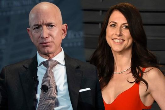 Amazon founder Jeff Bezos and wife MacKenzie announce divorce