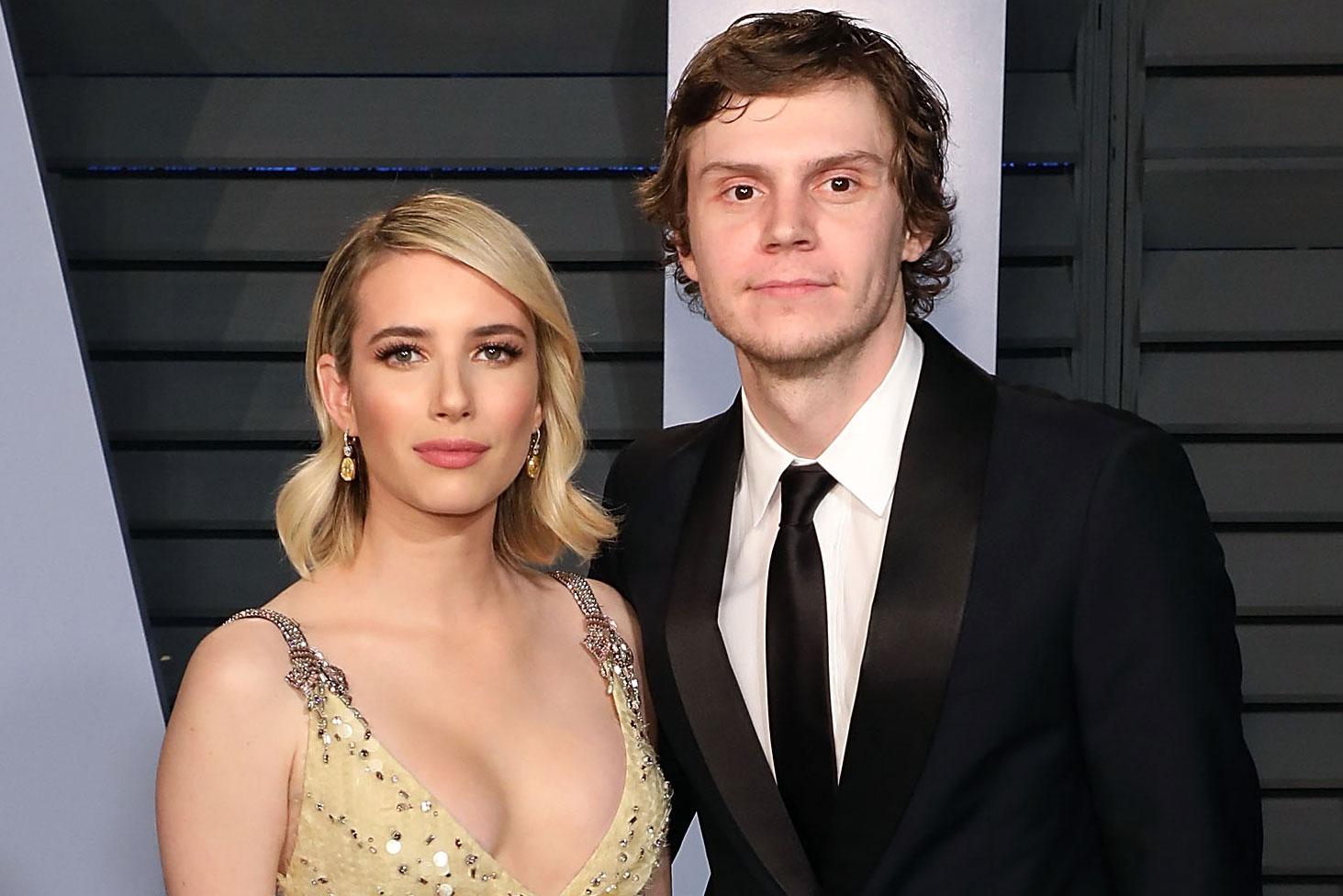Emma Roberts and Evan Peters: From arrests to broken ...