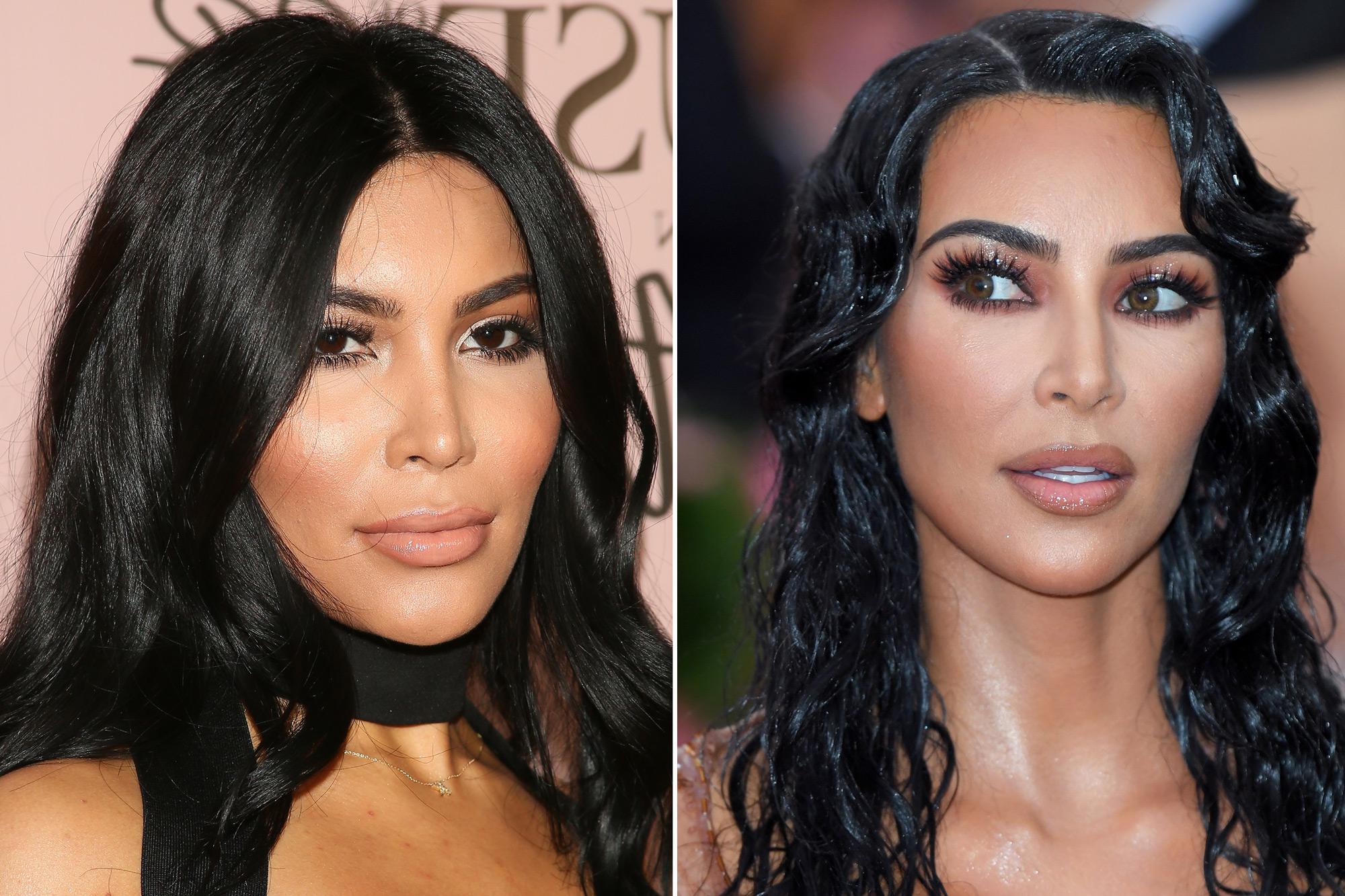 Kim Kardashian lookalike claims star stole her look