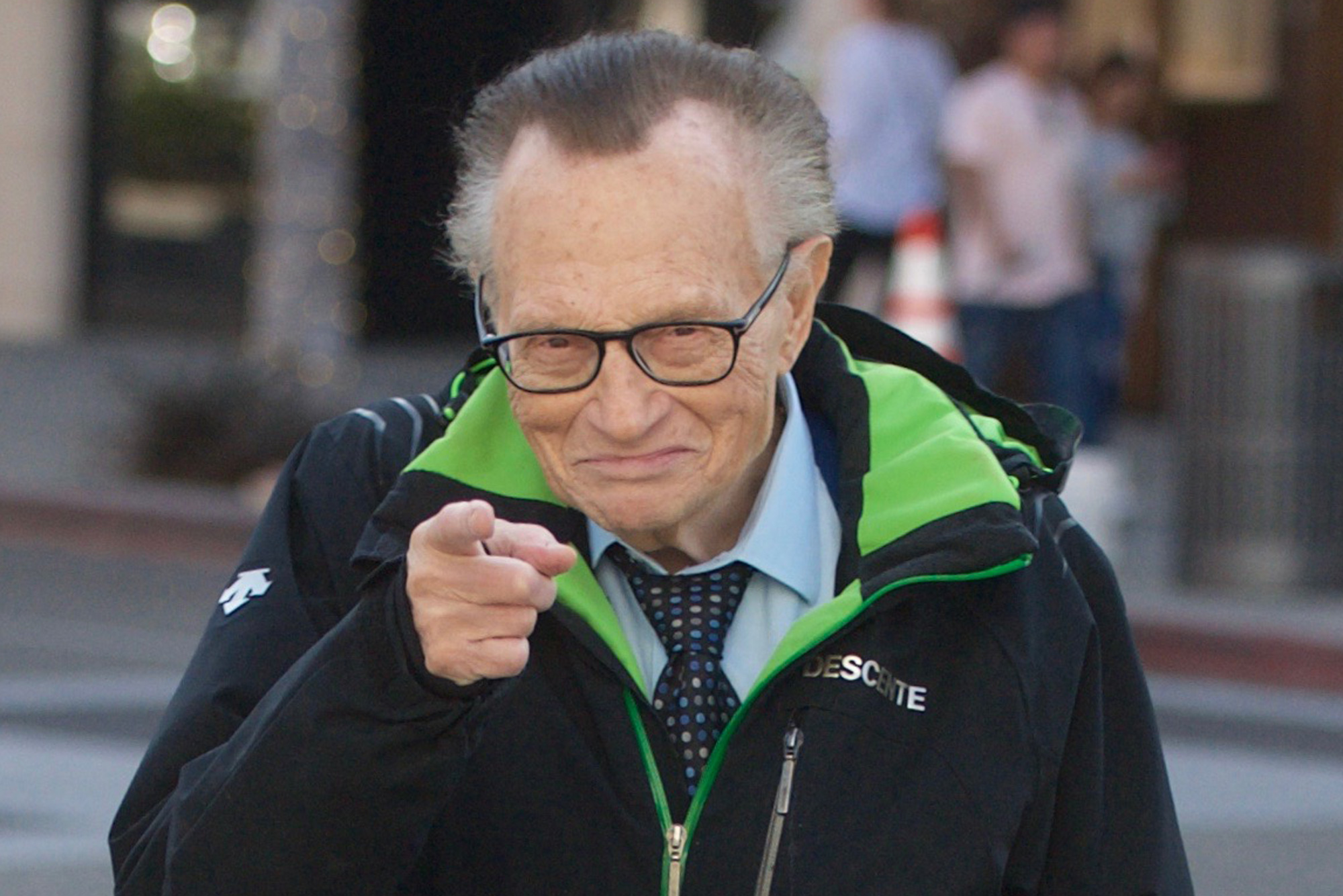 Larry King feeling better after spending 87th birthday in the hospital