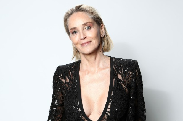 Sharon Stone jokes that her dating life is 'like a comedy'   Page Six