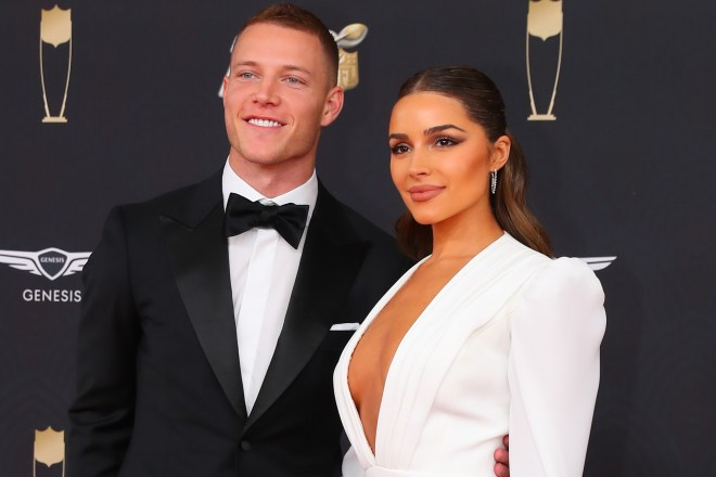 Who is Olivia Culpo, Christian McCaffrey's girlfriend?