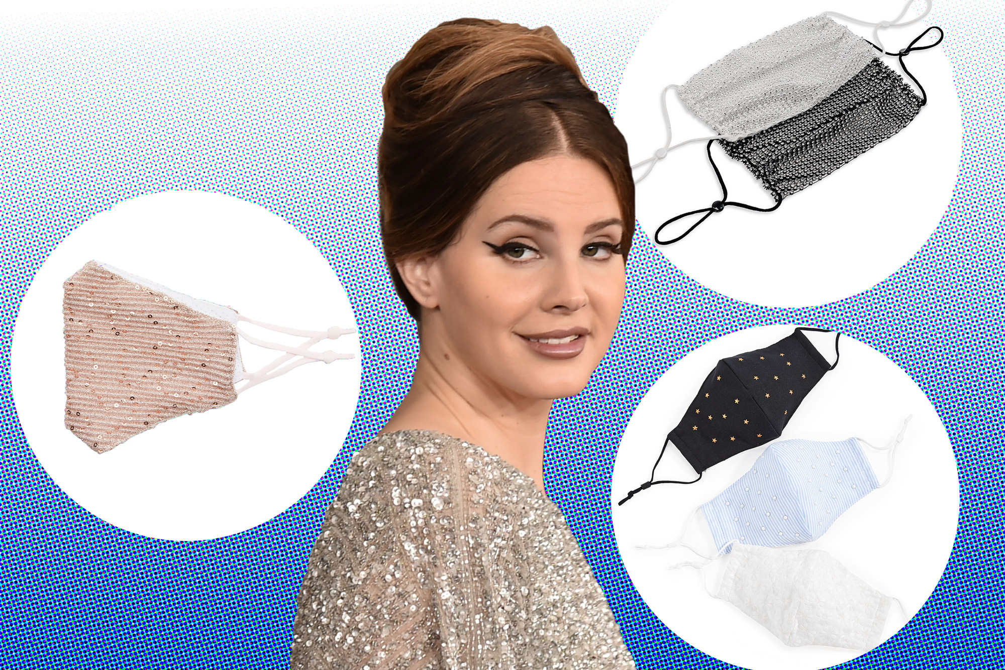 Lana Del Rey Please Wear One Of These Face Masks Instead