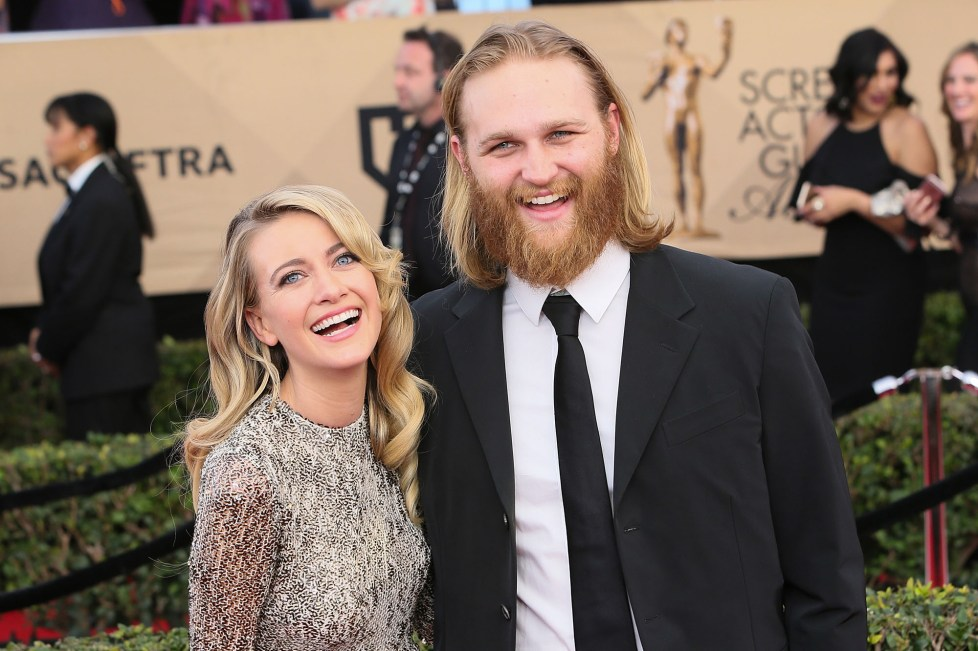 Wyatt Russell expecting first child with wife Meredith Hagner