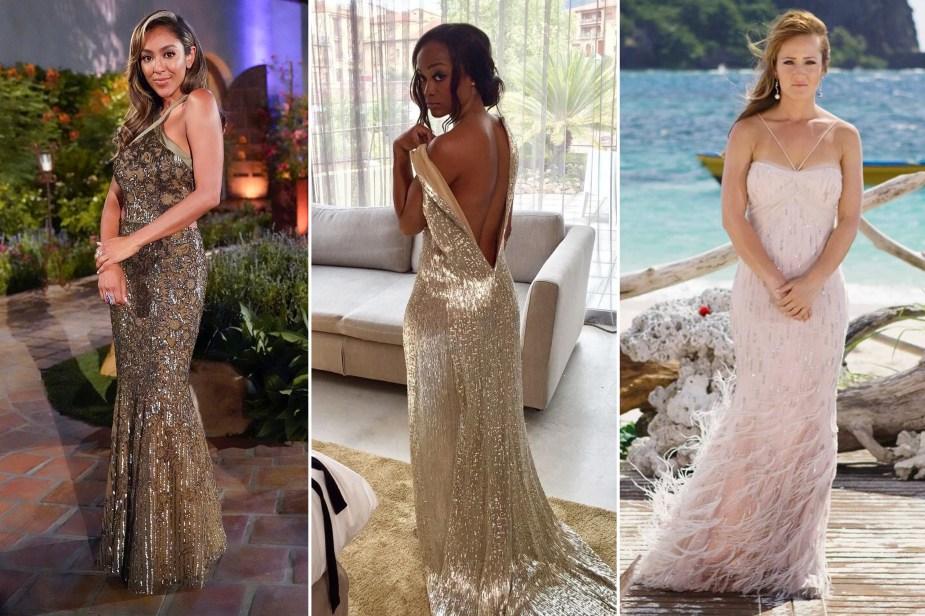 'Bachelorette' designer Randi Rahm on her favorite dresses through the years