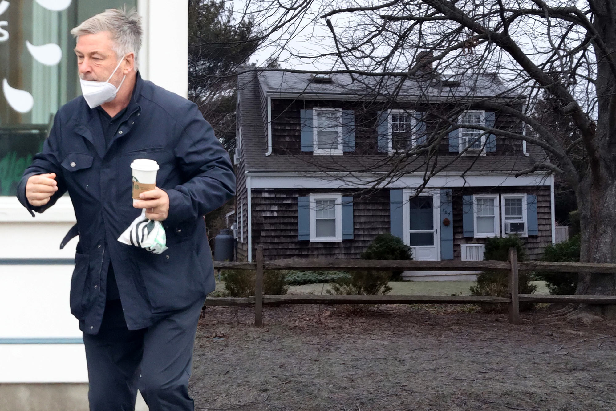 Alec Baldwin staying in separate house from Hilaria