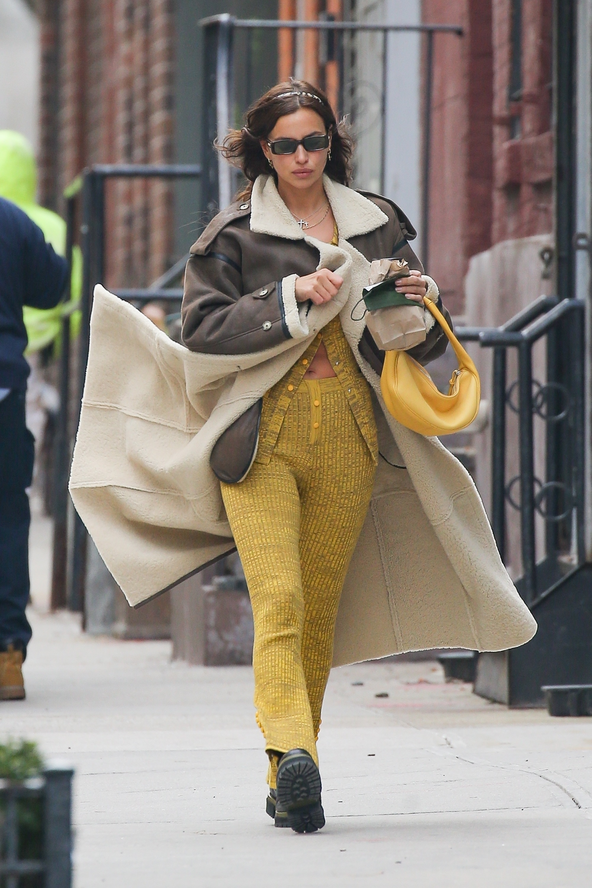 Irina Shayk looks gorgeous in New York