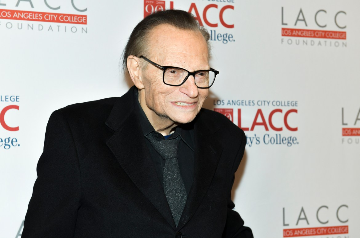 Larry King hospitalized with COVID-19 1