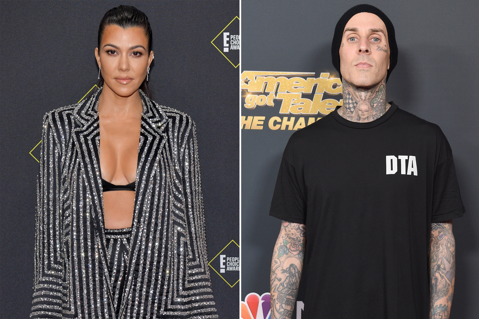 Kourtney Kardashian, Travis Barker celebrate Valentine's Day
