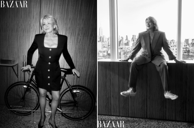 Martha Stewart recalls wearing hot pants to work on Wall ...
