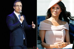 John Oliver Meghan's warning reappears after an interview with Oprah