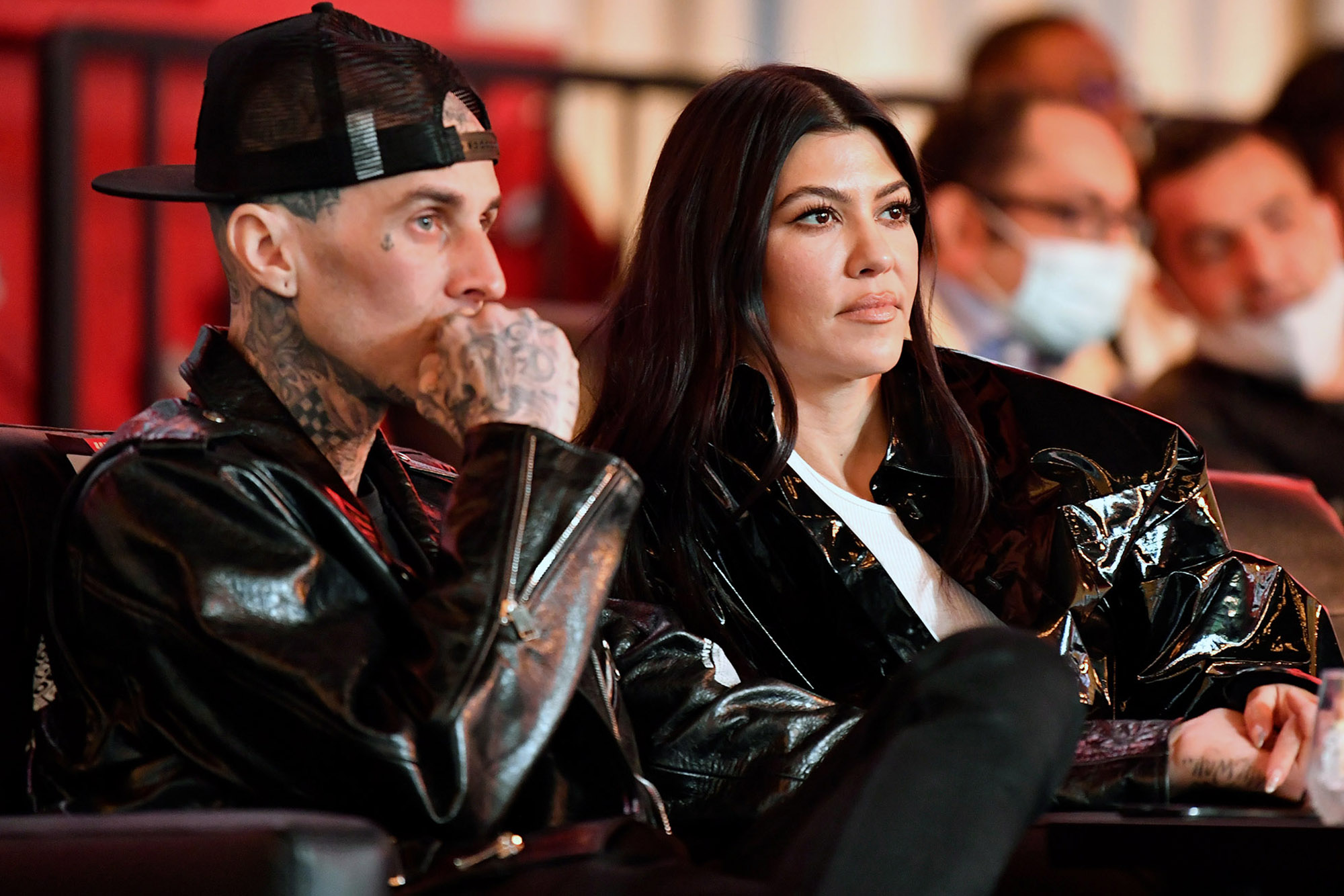 Travis Barker gets new tattoo of Kourtney Kardashian's name