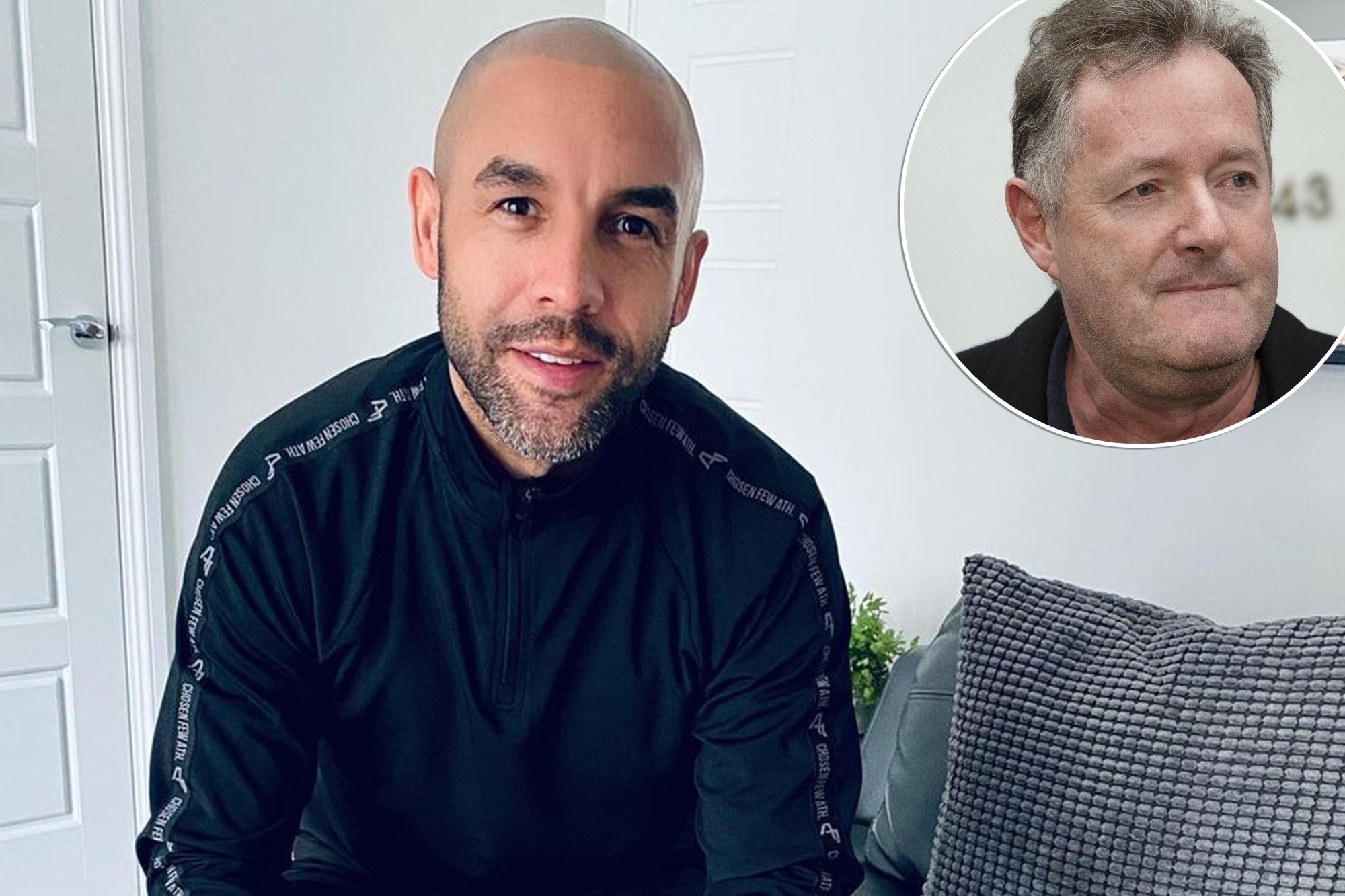 Alex Beresford takes to Instagram after Piers Morgan 'uptight' jab