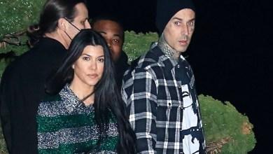 Travis Barker can't stop braiding Kourtney Kardashian's hair
