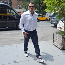 Alex Rodriguez dines with ex-wife Cynthia Scurtis and her husband