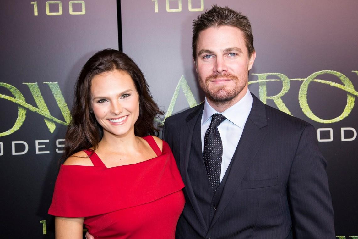 Stephen and Cassandra Amell
