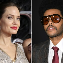 Angelina Jolie And The Weeknd Spotted At The Same Concert