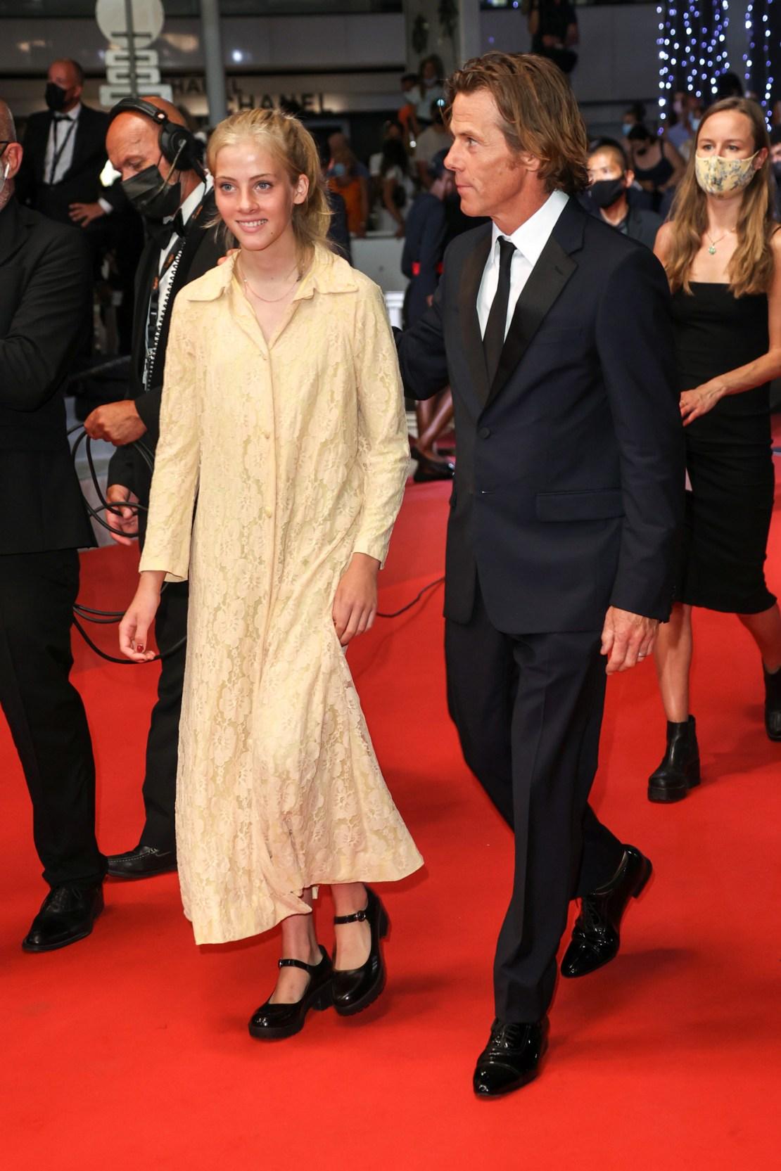 Hazel Moder makes red carpet debut in Cannes