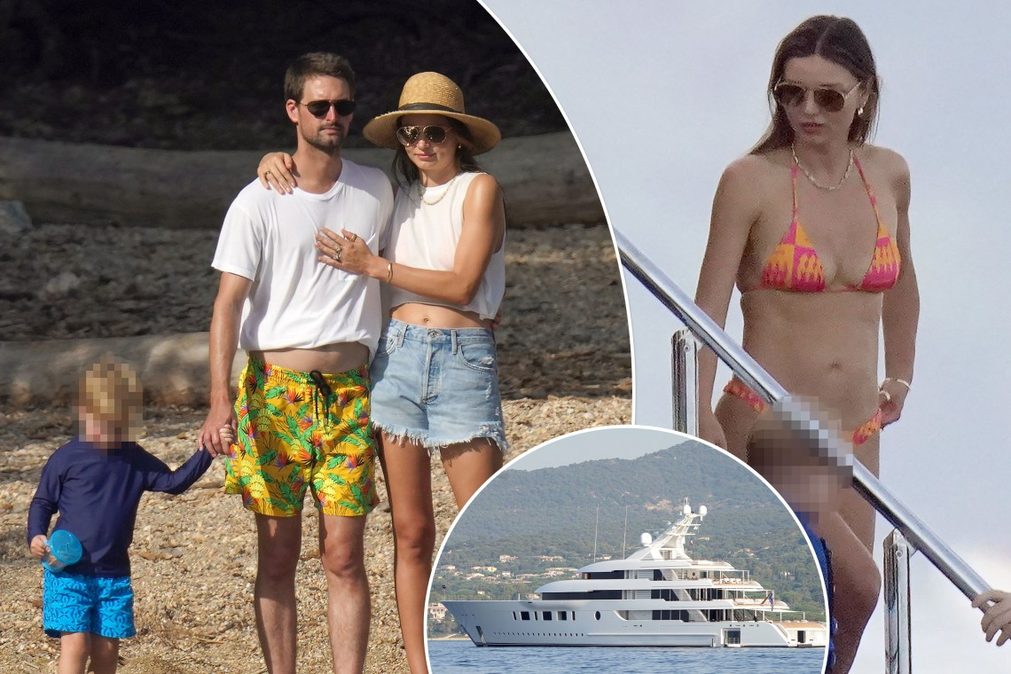Miranda Kerr and Evan Spiegel's mega yacht