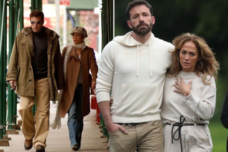 Jennifer Lopez and Ben Affleck's best matching moments: Then and now