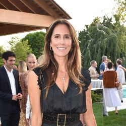 Chris Cuomo conspicuously absent as wife Cristina steps out for Hamptons bash