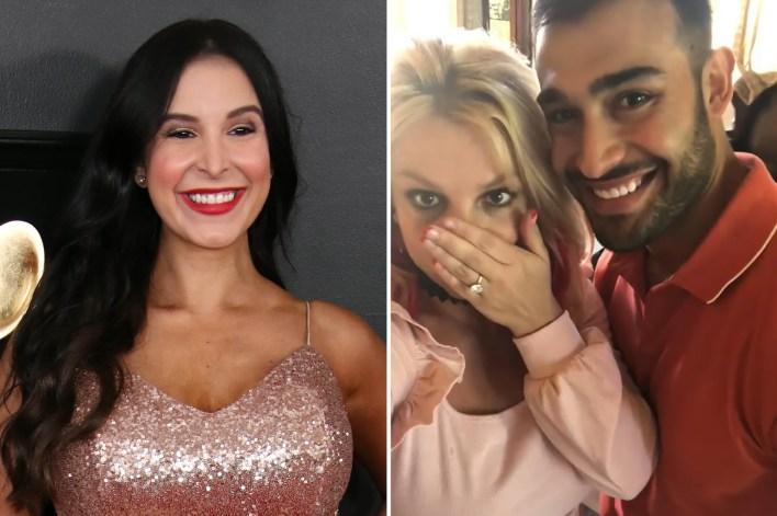 Mayra Veronica, ex Sam Asghari and fiancée, Britney Spears.