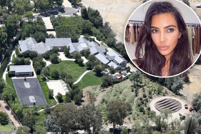 Kim Kardashian's Hidden Hills, California home