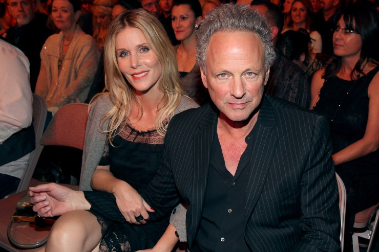 Lindsey Buckingham and wife 'working on' marriage after divorce filing
