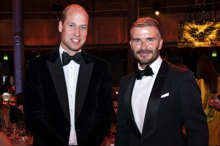 Prince William and David Beckham dress to the nines and more star snaps