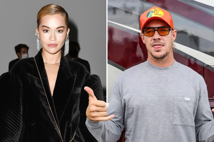 Rita Ora and Diplo celebrate the end of NYFW with strippers