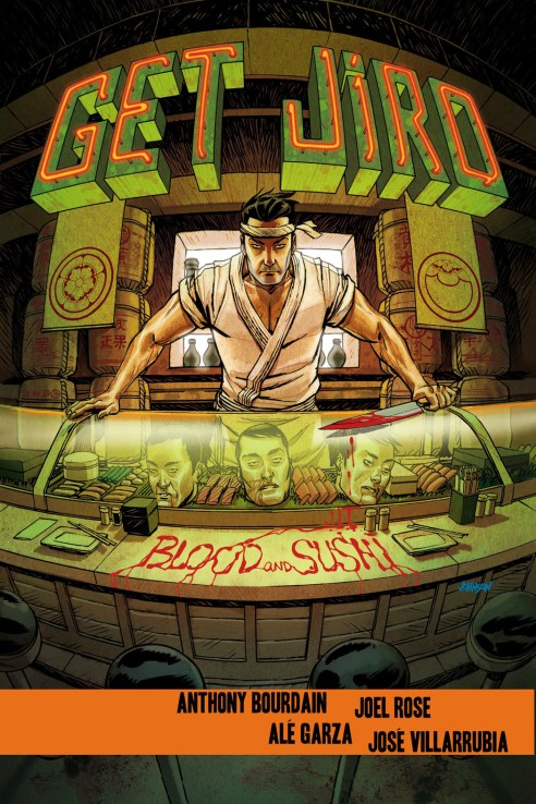 Get Jiro: Blood and Sushi with art by Joel Rose and Ale Garza