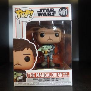 Star Wars Mandalorian Funko Pop! On Display at Pages N Pixels Comic Book Shop, Halifax Uk