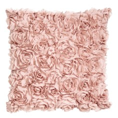 Chiffon flower cushion cover £8.99