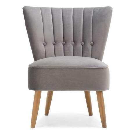 Dunelm Velvet chair