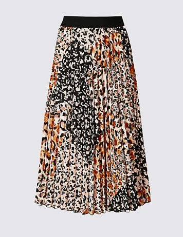 Marks and Spencer Pleated Midi Skirt £35