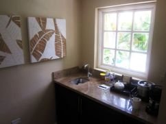 Kitchenette with bar